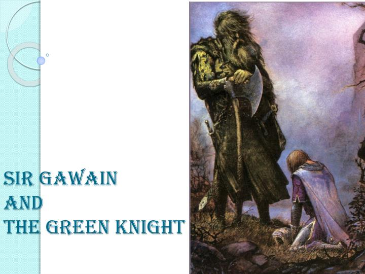 sir gawain and the green knight animalistic instincts in medieval times