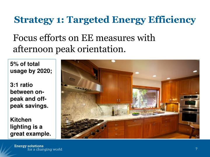Strategy 1: Targeted Energy Efficiency