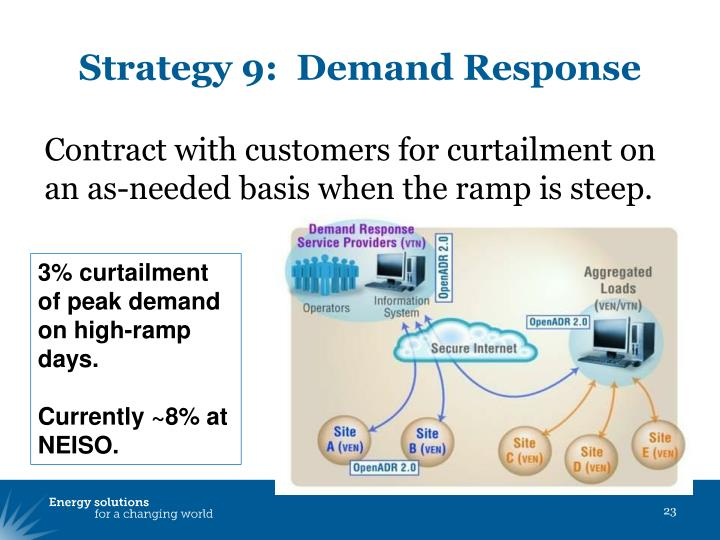 Strategy 9:  Demand Response