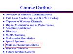 course outline1