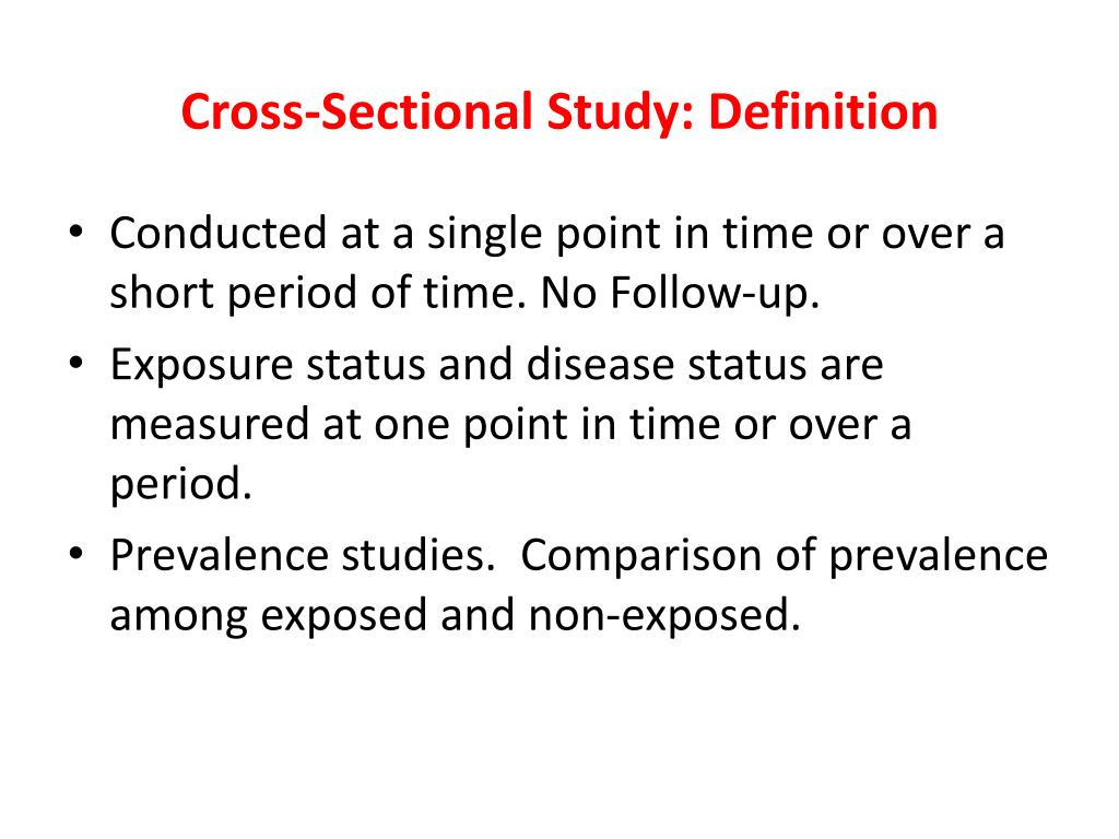 PPT - Epidemiological Study designs PowerPoint ...