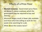 effects of a price floor3