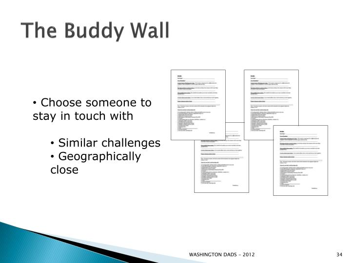 The Buddy Wall