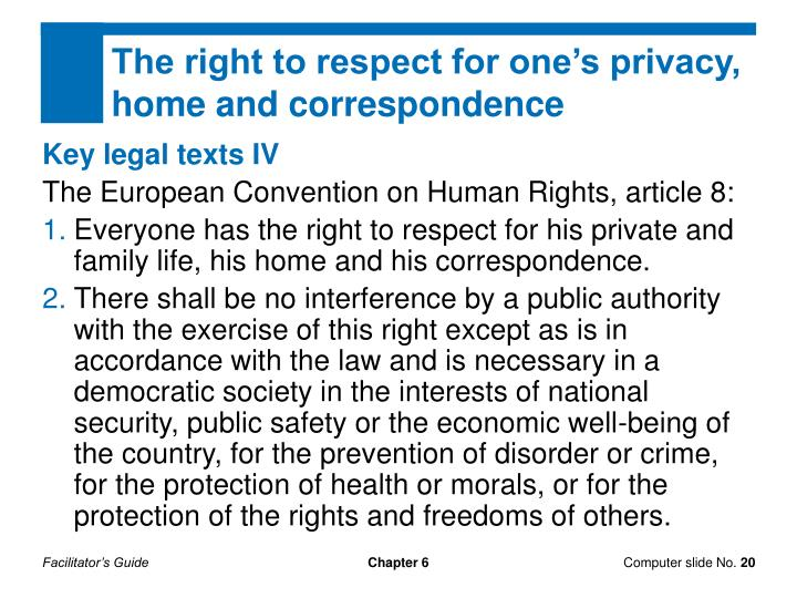article 6 the right to a The right to liberty and security protects the right of a person not to be arbitrarily deprived of their liberty.