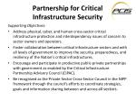 partnership for critical infrastructure security1