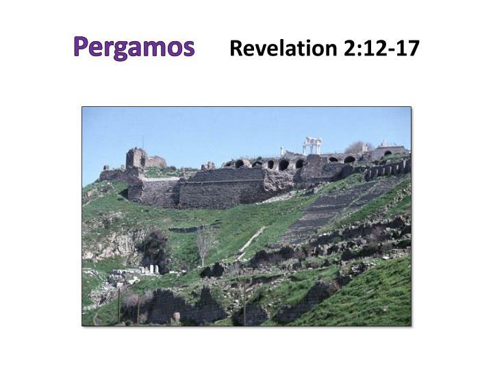 Pergamos revelation 2 12 17