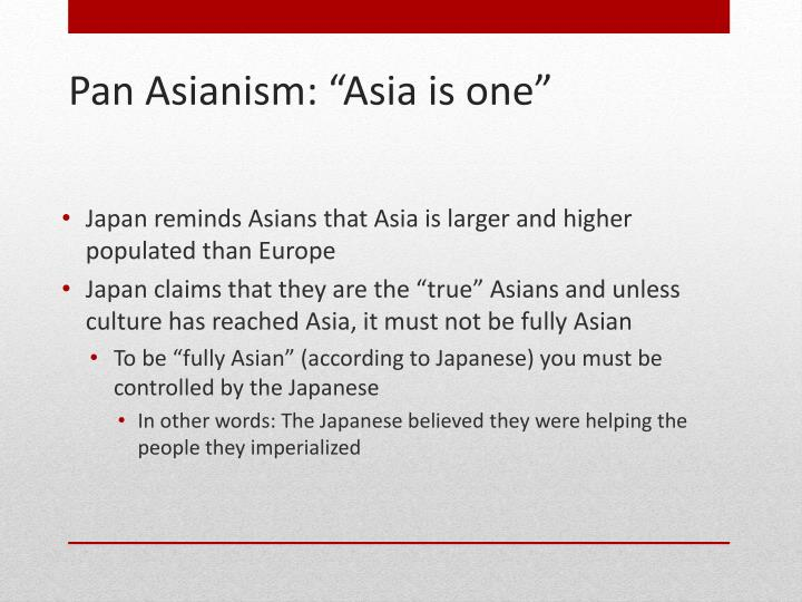 Japan reminds Asians that Asia is larger and higher populated than Europe