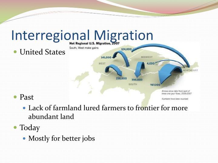 Interregional migration