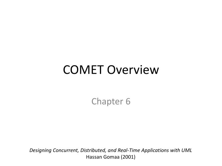Ppt Comet Overview Powerpoint Presentation Free Download Id 2093087
