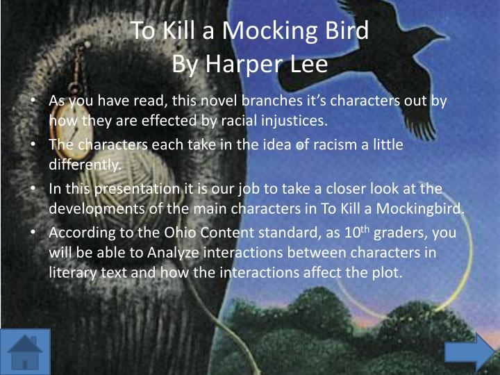 an analysis of to kill a mocking bird Stunning classic examines racism -- and justice read common sense media's  to kill a mockingbird review, age rating, and parents guide.