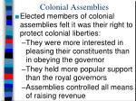 colonial assemblies