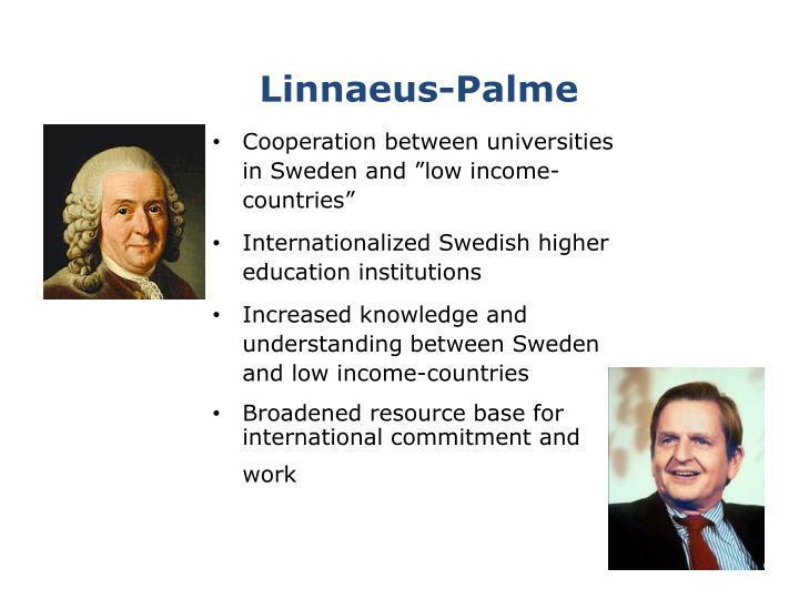 Linnaeus palme