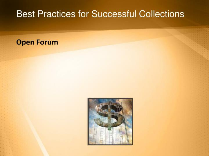 Best Practices for Successful Collections