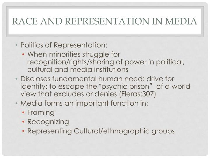 Race and Representation in media