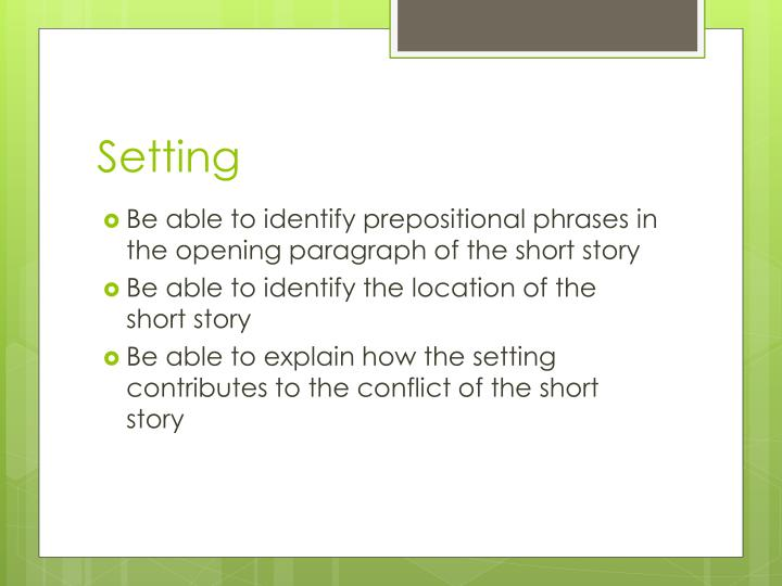 Ppt the interlopers powerpoint presentation id2094068 be able to identify prepositional phrases in the opening paragraph of the short story ccuart Gallery