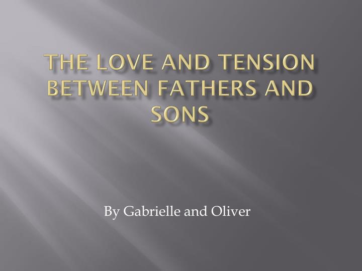 how do the relationships between fathers and sons affect the events of the novel Amir is also concern and jealous of the close relationship between his father and strained father-son relationship how do the elements of it affect his.