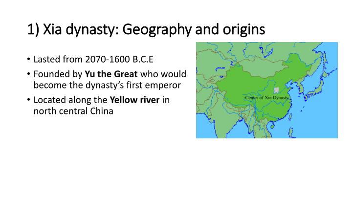 Ppt ap world history xia and shang dynasties in ancient china 1 xia dynasty geography and origins sciox Image collections