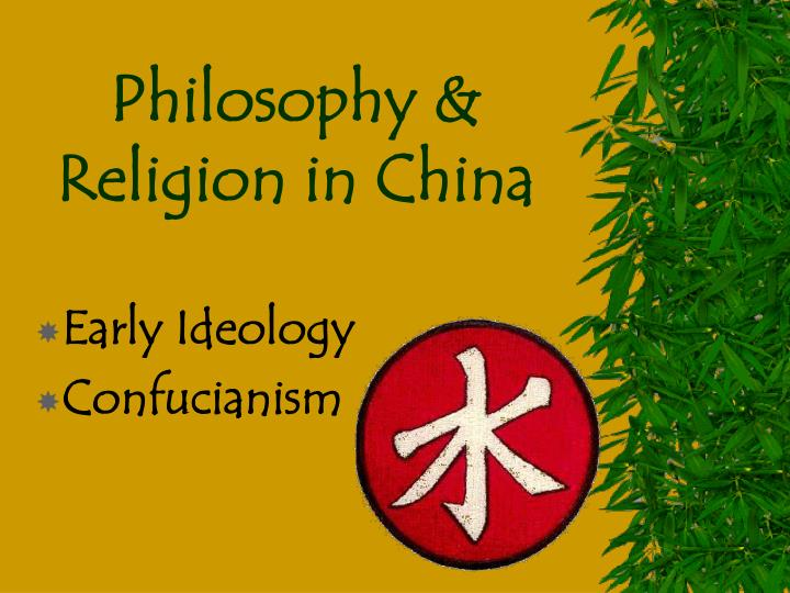 distinguishing philosophy from religion the example of confucianism How is confucianism different from other religions confucianism is not a religion etc Â¿how would his philosophy relate with religions in general.