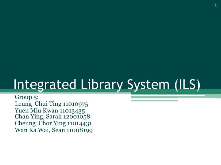 library system introduction Information system: information system, an integrated set of components for collecting, storing, and processing data and for providing information and digital products.