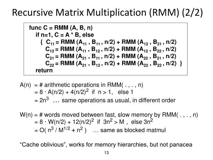 Recursive Matrix