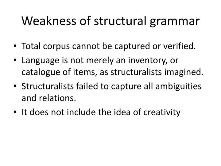 structuralism in linguistics