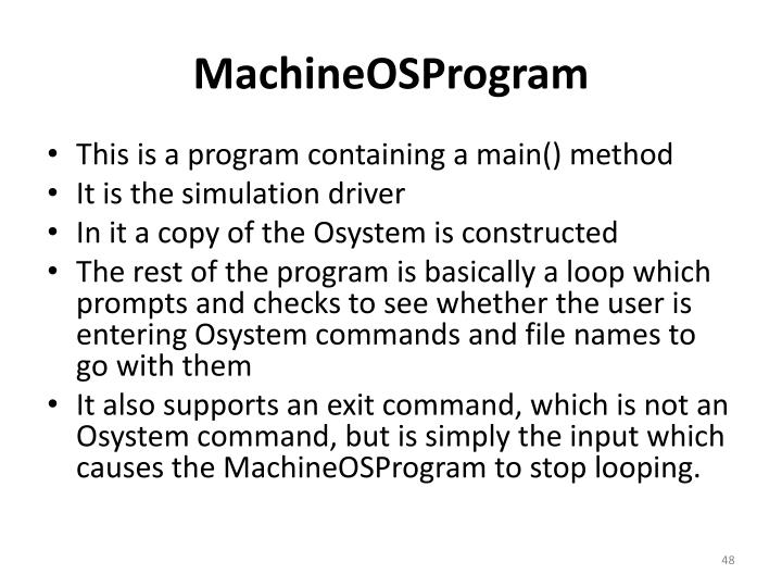 MachineOSProgram