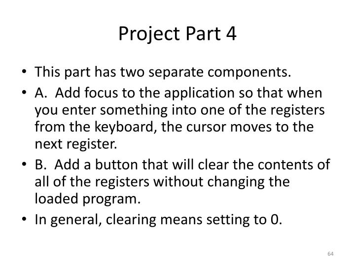 Project Part 4