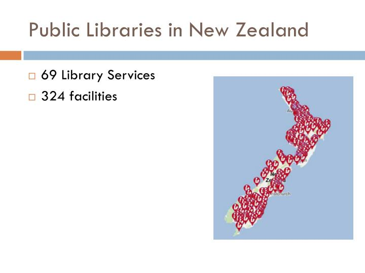 Public Libraries in New Zealand