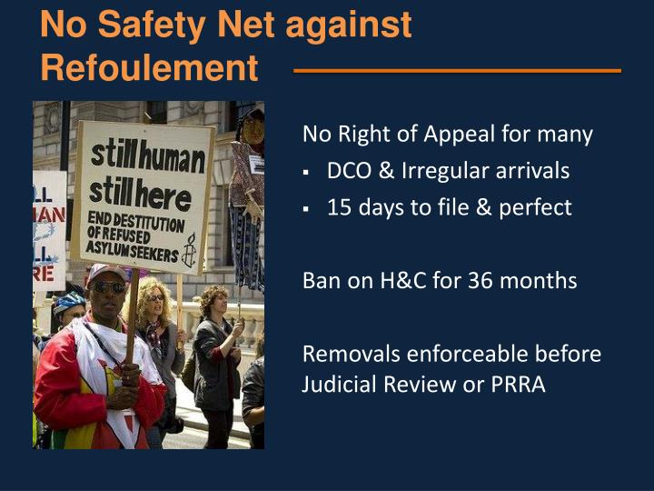 No Safety Net against