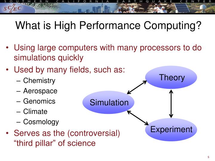What is High Performance Computing?
