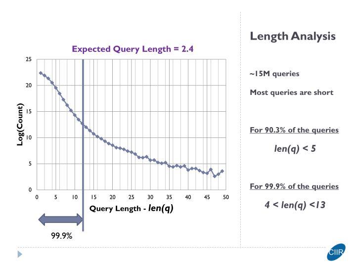 Length Analysis