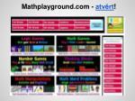 mathplayground com atv rt