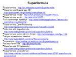 superformula