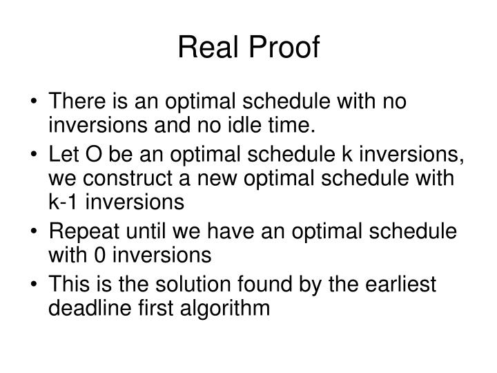 Real Proof