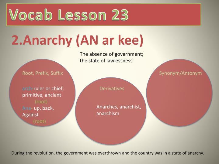 2 anarchy an ar kee