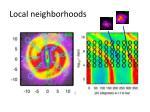 local neighborhoods