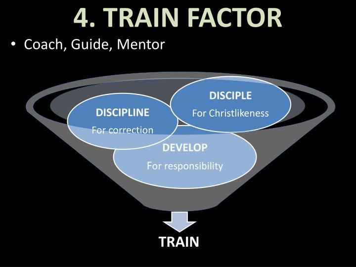4. TRAIN FACTOR