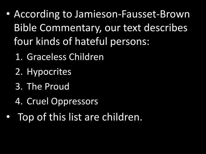 According to Jamieson-