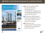 ihs studie deutschlands energiewende im globalen kontext