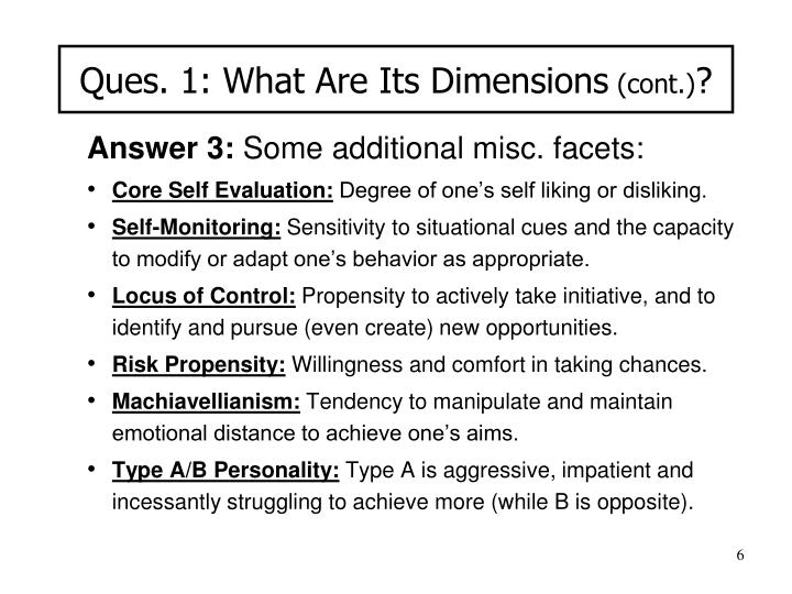 Ques. 1: What Are Its Dimensions