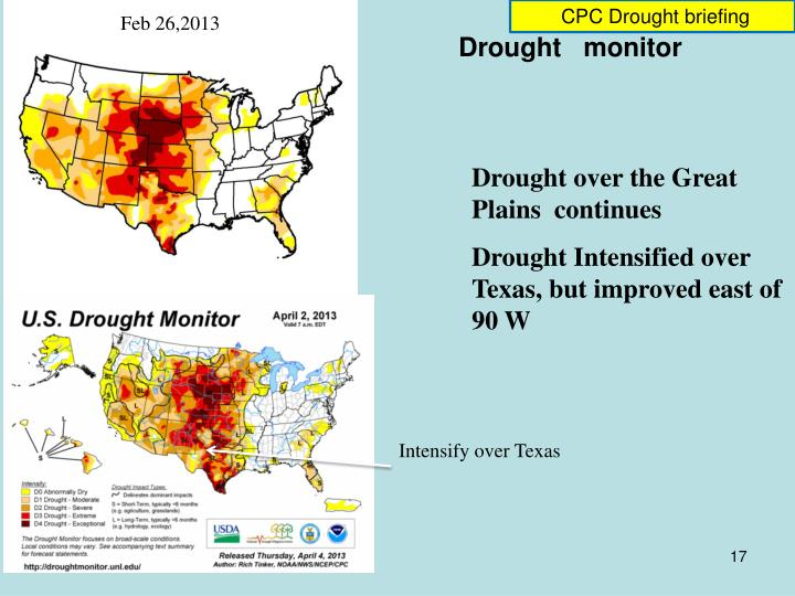 CPC Drought briefing