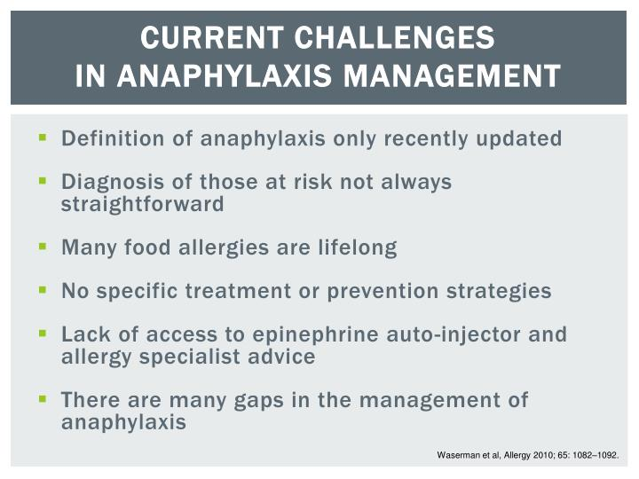 a discussion about treating anaphylaxis Your browser does not support h264/mp4 please open site with a different browser.
