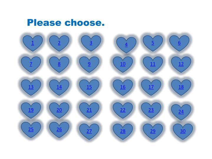Please choose.