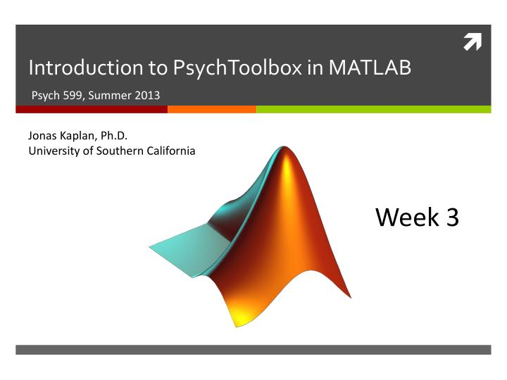 introduction to psychtoolbox in matlab n.