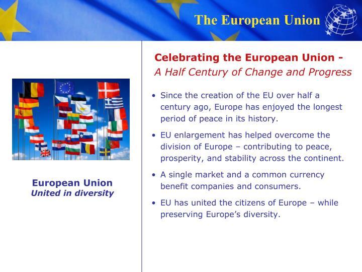 Celebrating the European Union -
