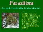 parasitism