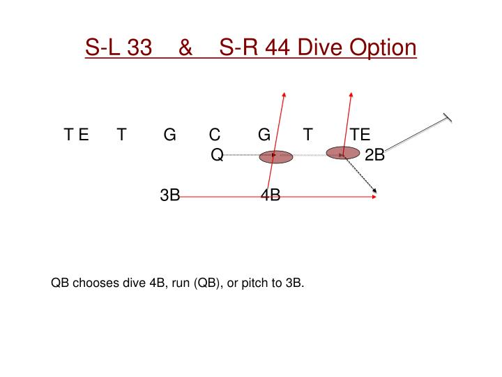 S-L 33    &    S-R 44 Dive Option