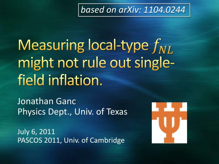 measuring local type might not rule out single field inflation n.