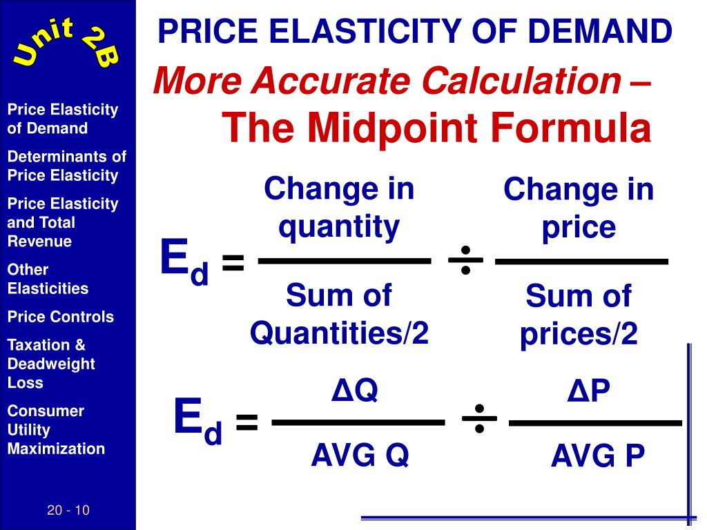 Ppt Elasticity Of Supply Demand Powerpoint Presentation Free