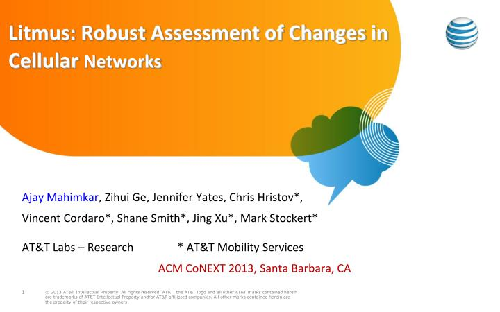 Litmus robust assessment of changes in cellular networks